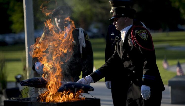 Freedom Festival celebrates Flag Day with annual flag retirement ceremony   Provo News